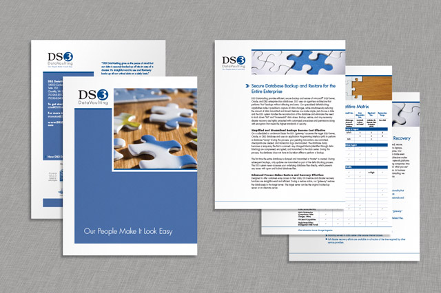 Cool river marketing blog archive ds3 datavaulting for Brochure insert template